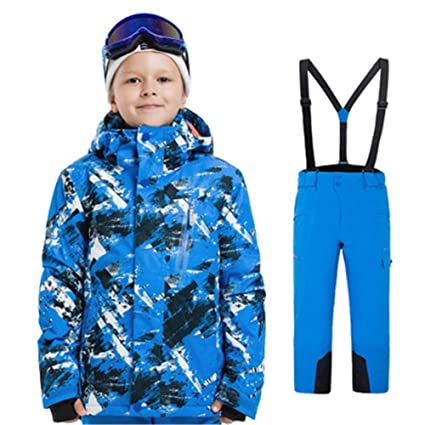 9dd5f434be53 Amazon.com   Snow Suit Sets Snowboarding Clothing Boy and Girl ...