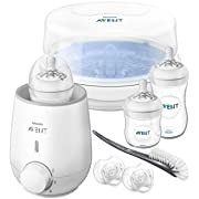 Philips Avent Natural All in One Gift Set, SCD207/01, Clear