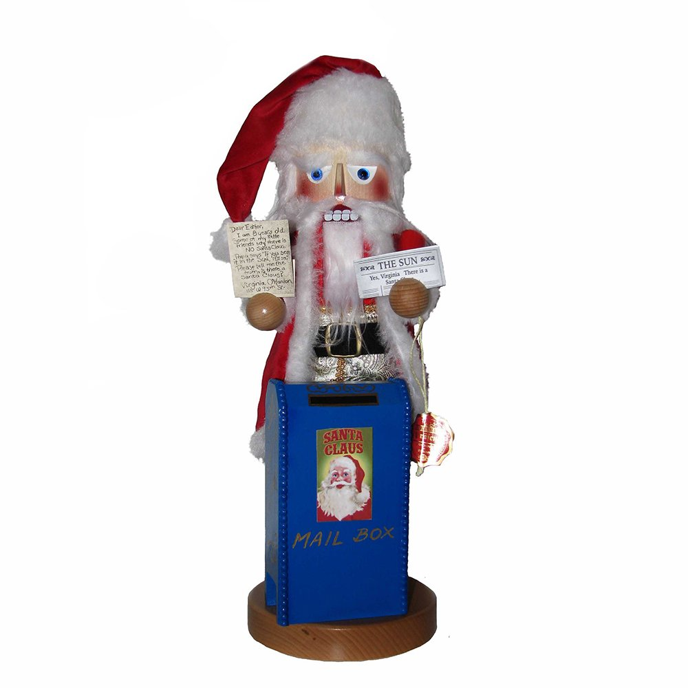 Kurt Adler 19'' Steinbach Yes Virginia Santa Nutcracker