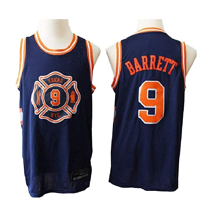 Camiseta de Hombre -NBA R.J.Barrett # 9 New York Knicks Camiseta ...