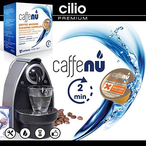 Cilio - caffenu® Lavado Cápsulas: Amazon.es: Hogar