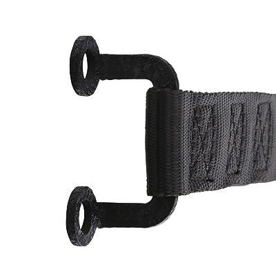 Smittybilt 769401 Adjustable Door Straps for Jeep Wranglers - Pair - Black: Automotive