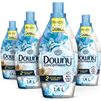 Downy Suavizante De Telas Aroma Brisa Fresca 4 Unidades De 1.4L, Total 5.6L