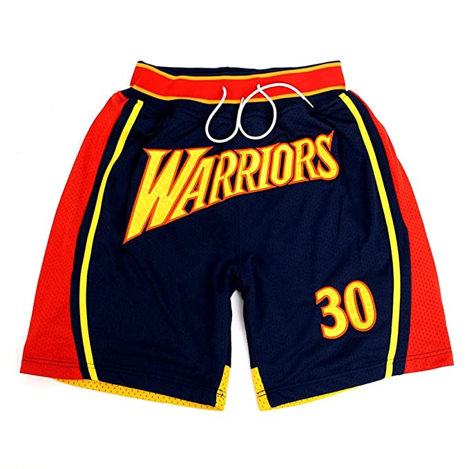 YHsports Golden State Warriors Stephen Curry Shorts ...