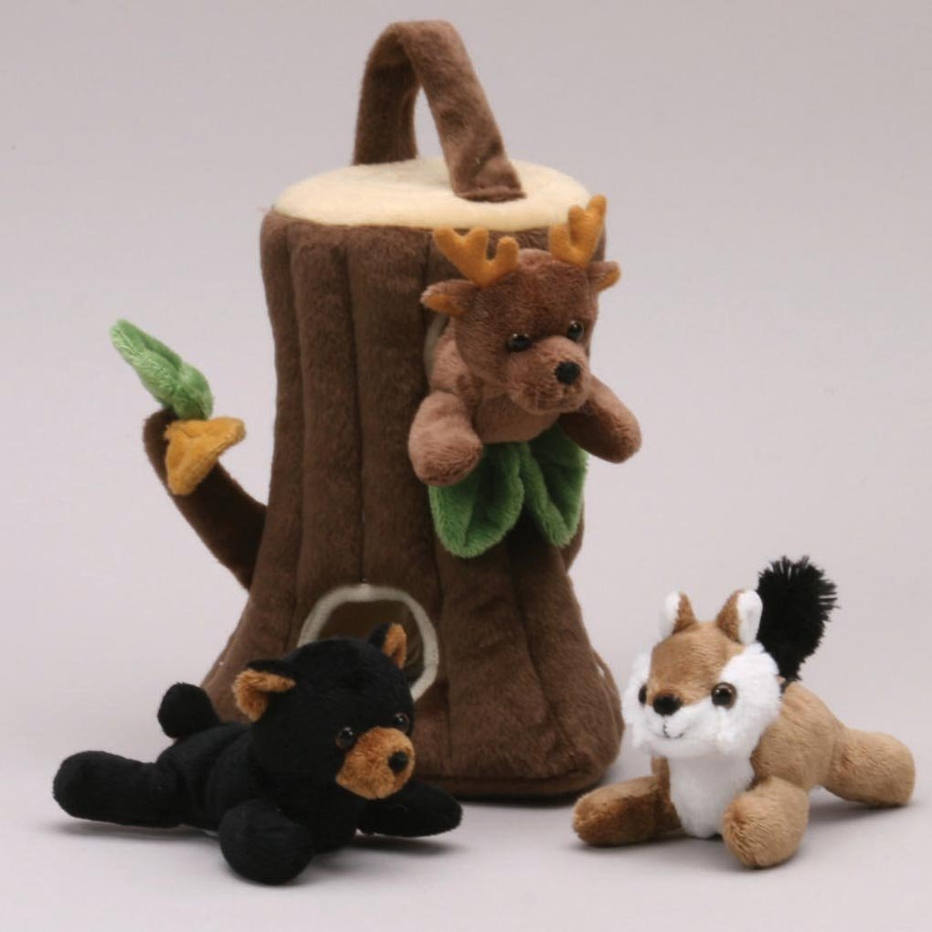 Tree Finger Puppet Play House 20cm by Unipak