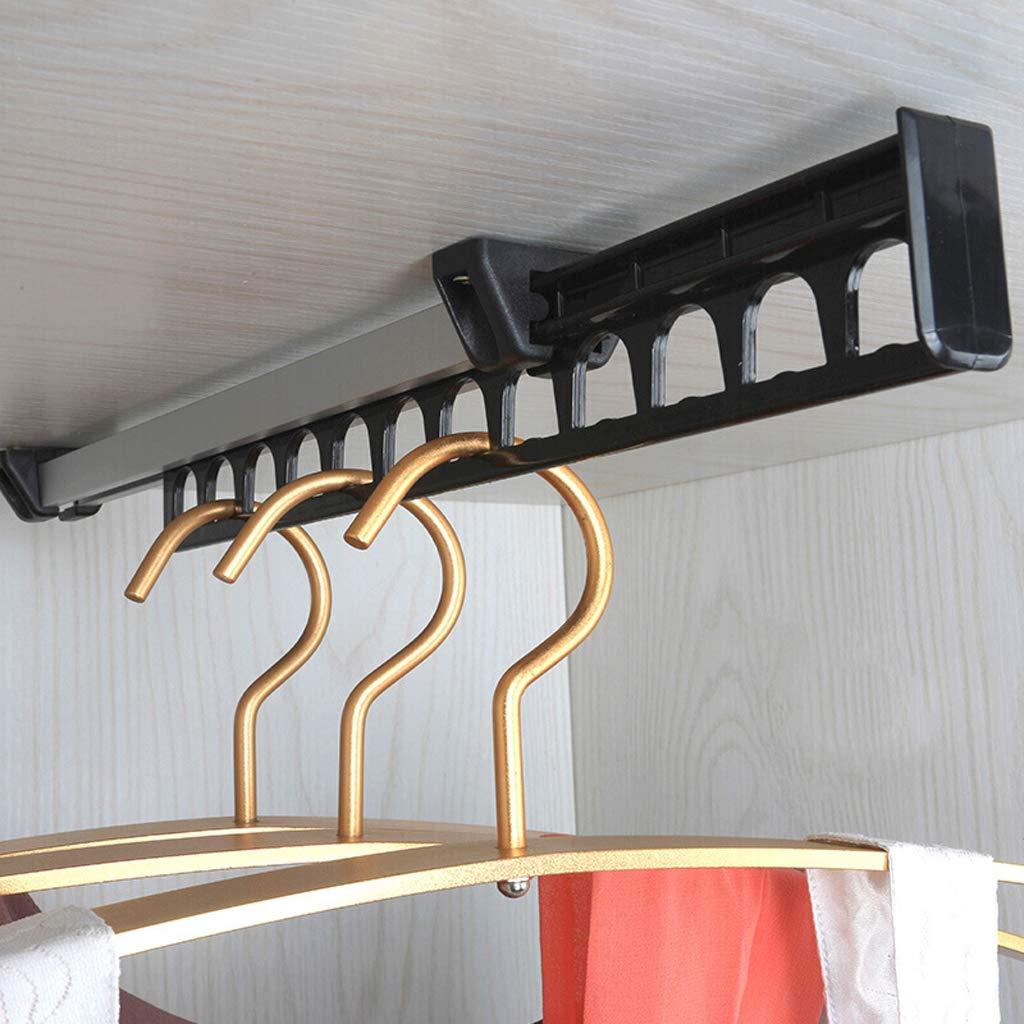 L/änge 310mm Kleiderschrank Top Loading Kleiderb/ügel Erweiterbar Teleskop-Kleiderstange Garderobe Multifunktions-Pull Kleiderst/änder Hosenst/änder