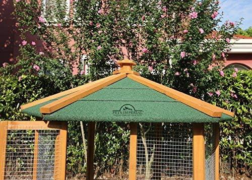 Pets Imperial® - Pajarera hexagonal de madera: Amazon.es: Jardín