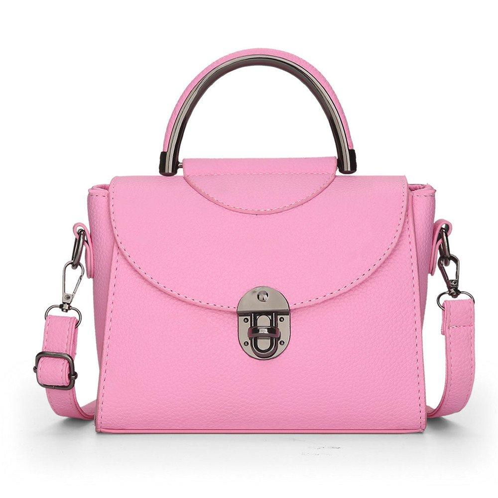 GWQGZ Handtasche Der Modedame Rosa Rosa Rosa B07DYKZNFF Schultertaschen Verkauf Online-Shop aa00c4