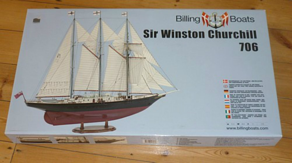 Amazon.com: Sir Winston Churchill – Modelo Ship Kit de ...