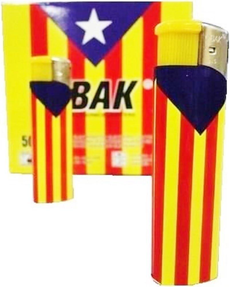 Lot 2 mecheros de la bandera de Cataluña Estelada electrónica Independance: Amazon.es: Hogar