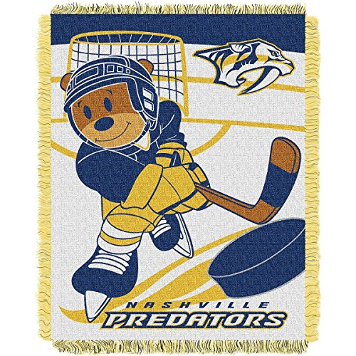 The Northwest Company Nashville Predators Score Baby Woven Jacquard Blanket