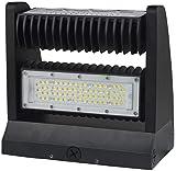 10,400 Lumens LED Rotating Wall Pack - 80 Watt