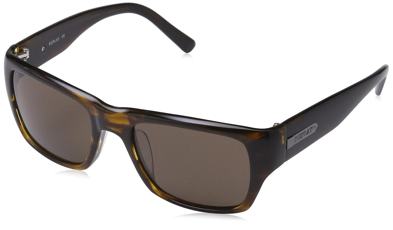 Replay Herren RY538S Rechteckig Sonnenbrille, Gr. One Size