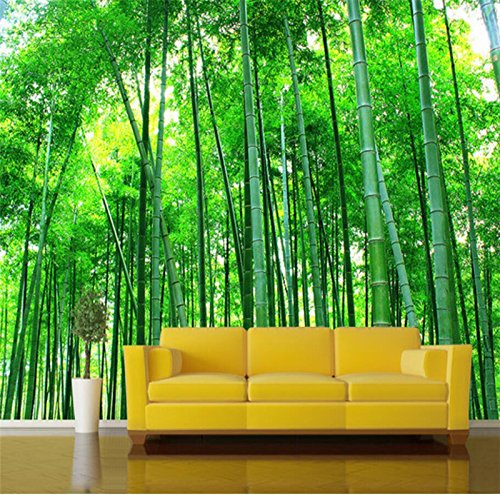 Cheap  140X70Cm, Wallpaper 3D Large Photo Wall Murals Bamboo Forest Landscape Background Wall..