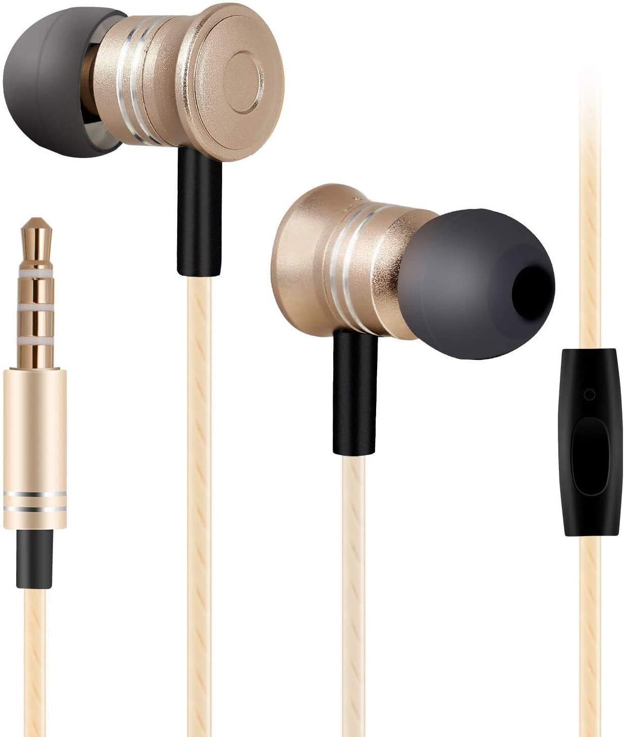 Ear Buds Wired, Ear Phones Earbud Headphones Earphones with Microphone Earbuds Wired in Ear Headphones Ear Phones for Cell Phones