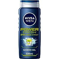 NIVEA, MEN, Shower Gel, Power Fresh, 500ml