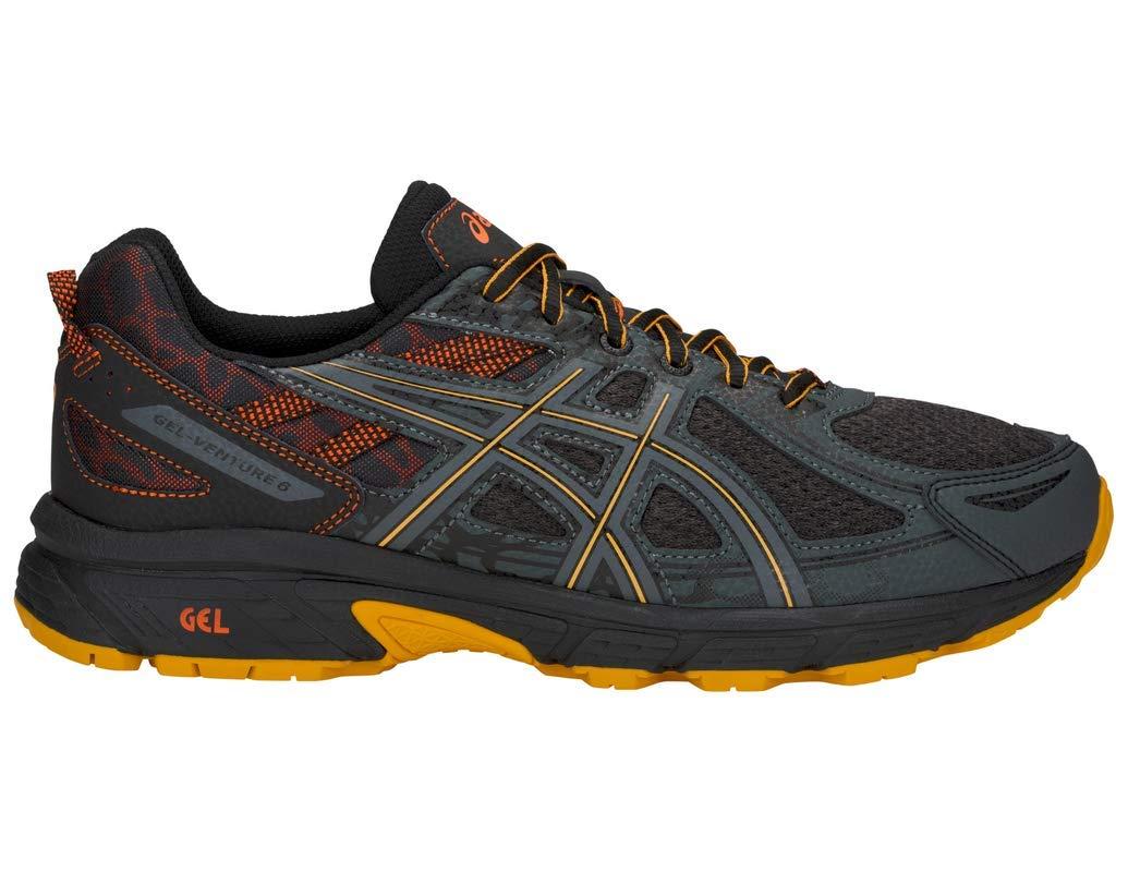 ASICS Gel-Venture 6 MX Men's Running Shoe, Phantom/Sunflower, 7 M US