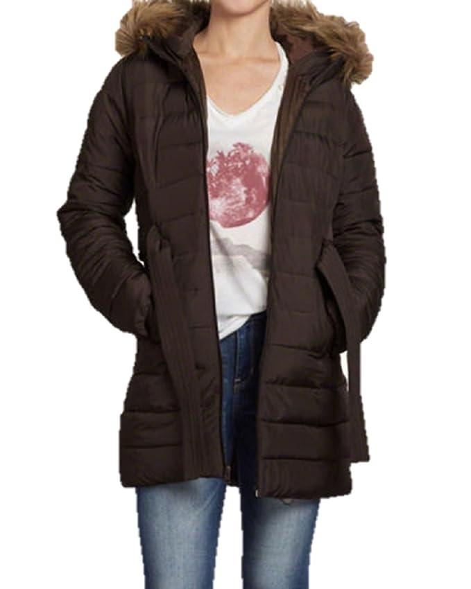 Hollister - Chaqueta - para Mujer Marrón marrón Small ...