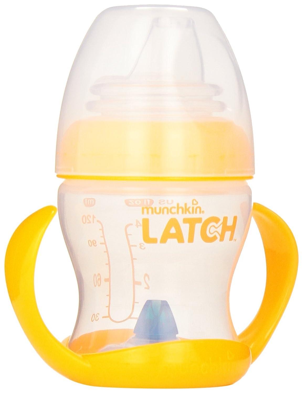 Munchkin Latch BPA-Free Transition Trainer Cup, Orange, 4 Plus Months 43620