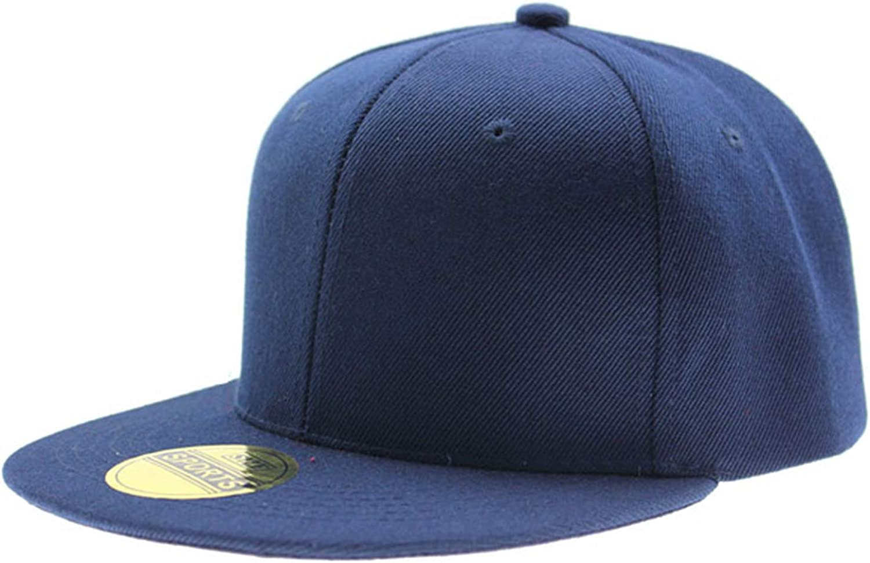 Chad Hope Fashion Adjustable Men Women Baseball Cap Solid Hip-Hop Snapback Flat Hat Visor