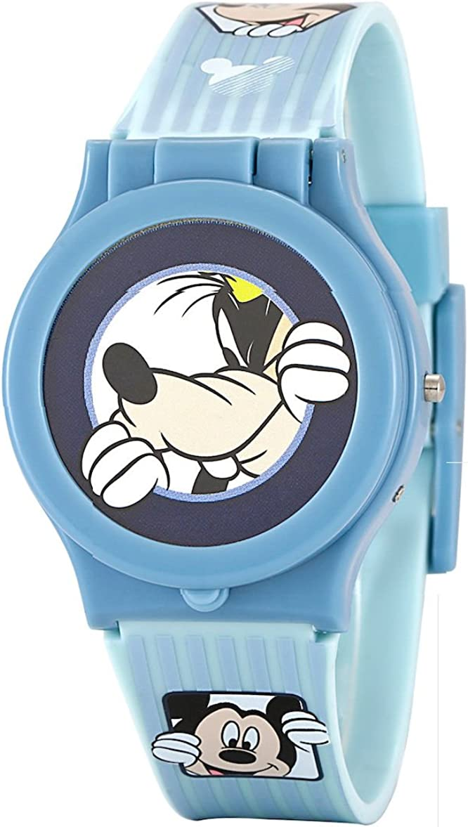 Disney Mickey Mouse Reloj Niños Cabeza intercambiable Azul Digital