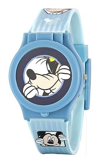 disponibilidad en el reino unido 6b7d4 15b40 Disney Mickey Mouse niños Intercambiable Cabeza Azul Reloj ...