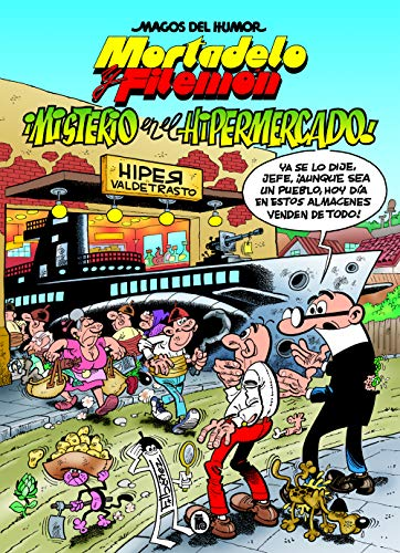 Misterio en el hipermercado Mortadelo y Filemón
