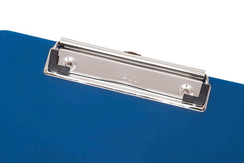 pl/ástico aufh ang/öse Maul schreibplatte A4/Portapapeles color azul oscuro