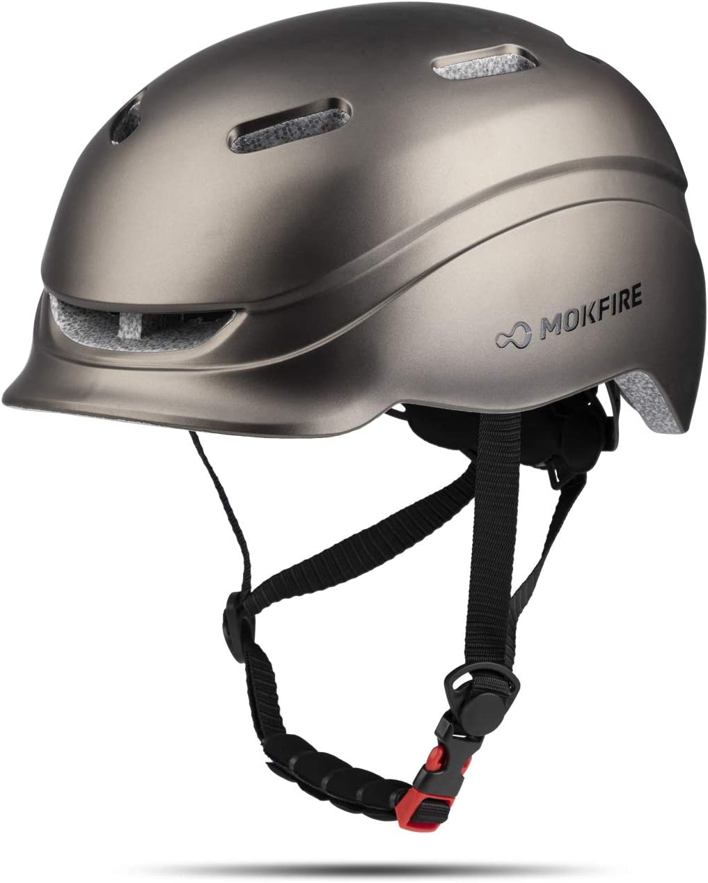 Adult Safety Cycling Bike Helmet with USB Light Rechargeable for Men Women