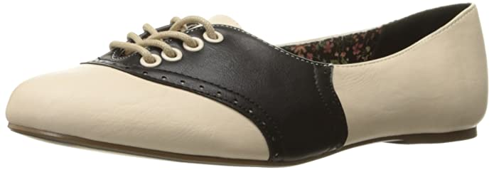 Saddle Shoes History Bettie Page Womens Bp100-Halle Oxford $30.77 AT vintagedancer.com