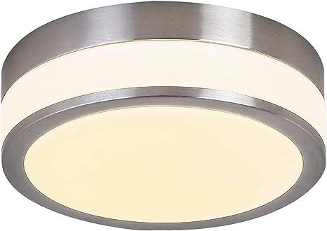 Amazon.com: Auffel - Lámpara de techo LED regulable de ...