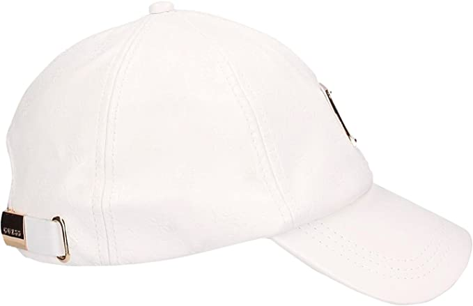 GUESS GORRA AM6644 POL01 WHITE: Amazon.es: Ropa y accesorios