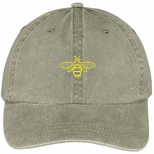 Bee Embroidered Cap