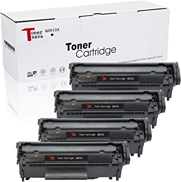 2PK Toner for HP 12A Q2612A 1018 1020 1010 3020 1012 3015 1022 3030 3050
