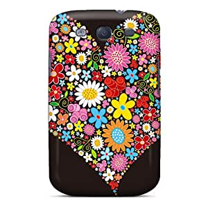 Snap-on Valentines Day Case Cover Skin Compatible With Galaxy S3