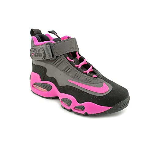 04836b68918 Nike Air Griffey Max 1 (GS) Youth Girls Size 7 Black Sneakers Shoes ...