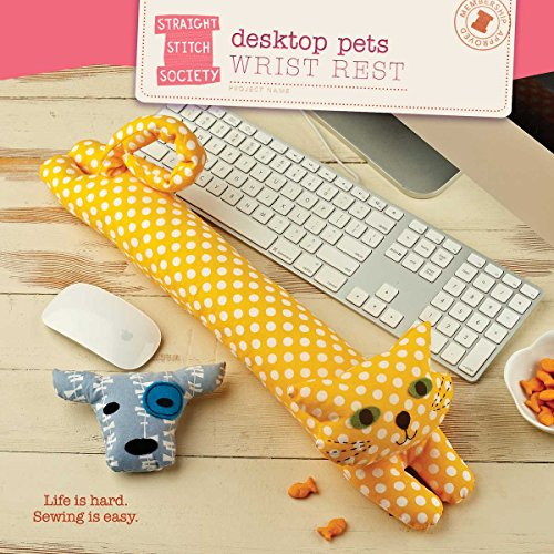 Desktop Pets Wrist Rest Sewing Pattern