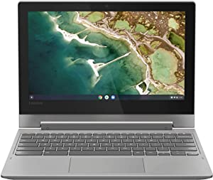 Lenovo Chromebook 2-in-1 Laptop Quad-Core Processor, 4GB RAM, 32GB eMMC, Google Chrome OS,
