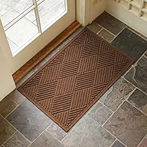 Amazon Com Large Entryway Rug With Non Slip Rubber