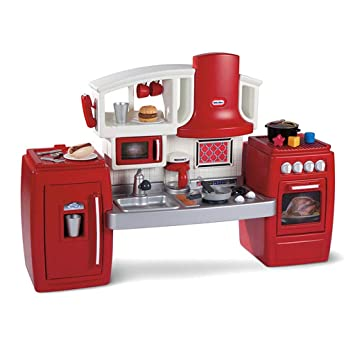 Amazon.com: Kitchen Toys Kitchen Playsets Children\'s Plastic ...