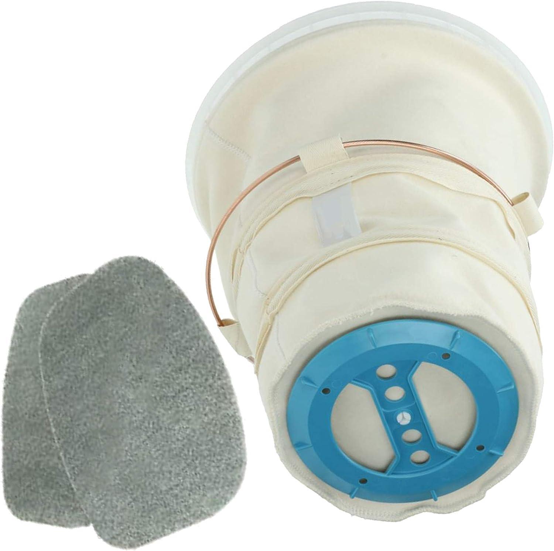 Spares2go - Filtro principal de algodón + 2 almohadillas de filtro ...