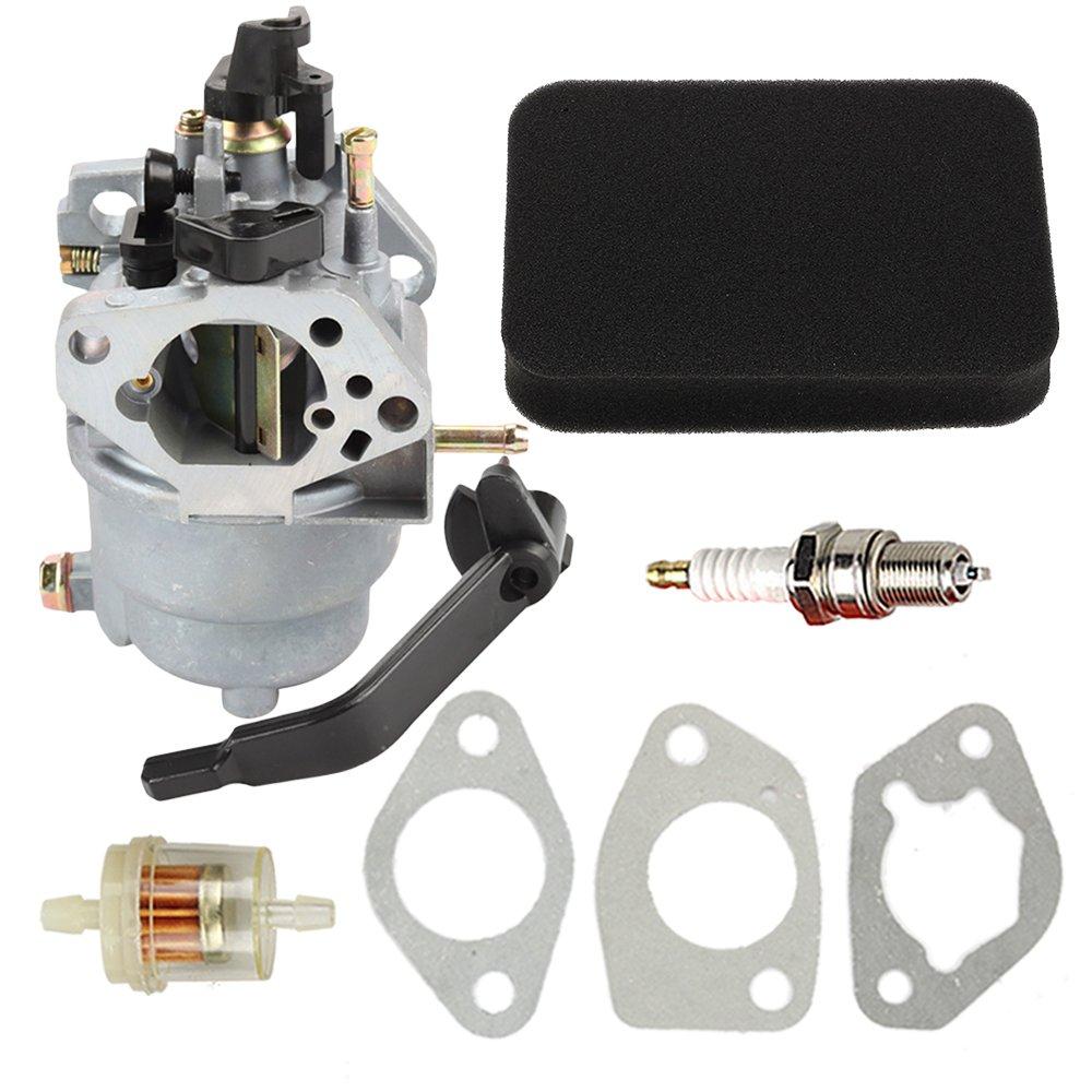 carburetor with air fuel filter for generac gp5000 gp5500. Black Bedroom Furniture Sets. Home Design Ideas