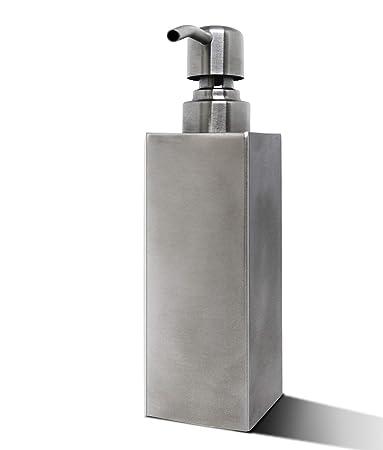 Amazon.com: HOUJIN Dispensador de jabón de acero inoxidable ...