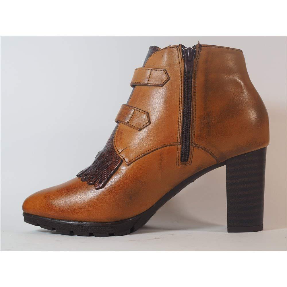 Botines Pitillos 5324 Cuero-MARRÓN - Color - Cuero, Talla - 41: Amazon.es: Zapatos y complementos