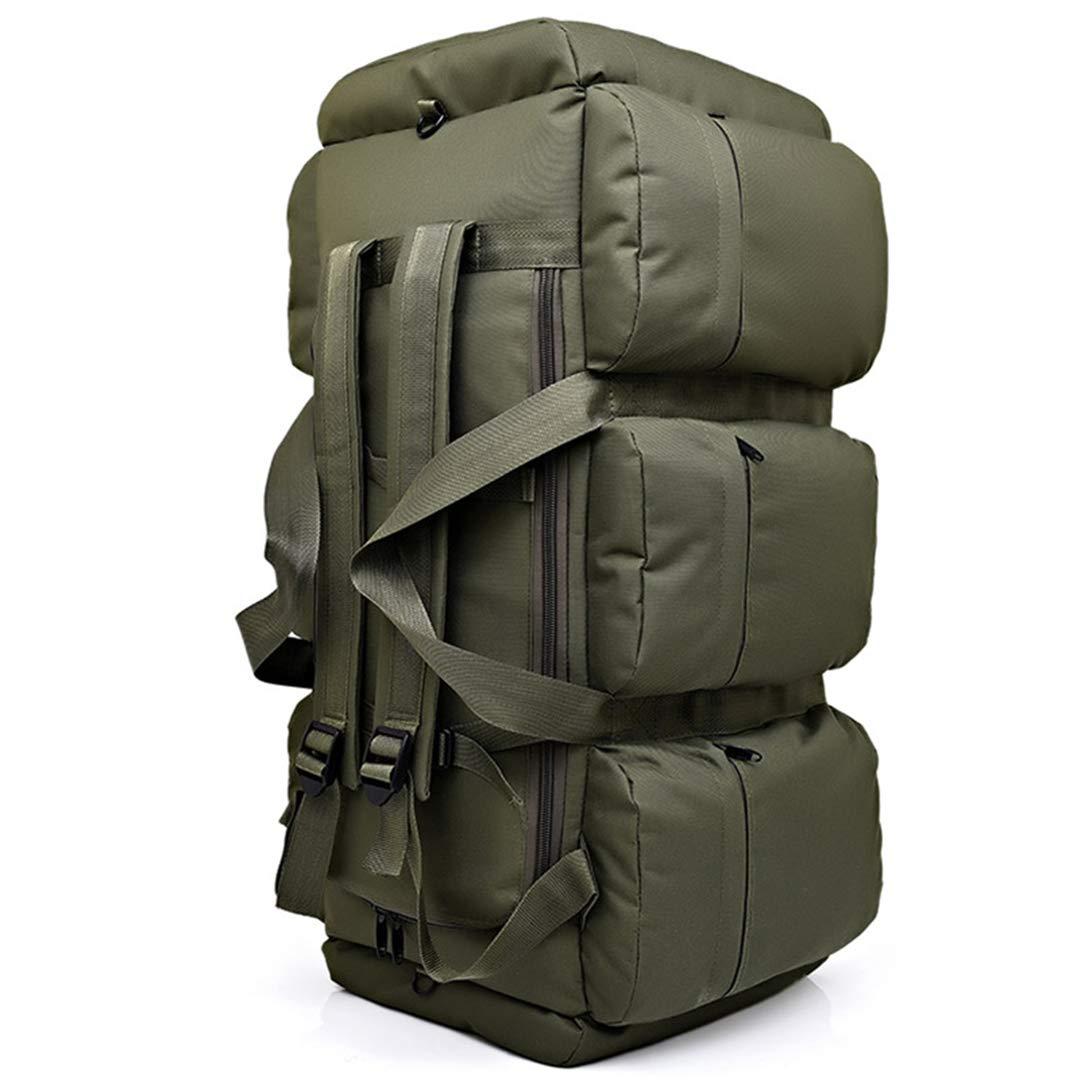 Mens Travel Bags Canvas Capacity Duffel Bags Luggage H bag Casual Shoulder Bag Tote H Luggage Dark Khaki