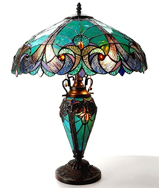 Chloe Lighting - Tiffany inspired table lamp - glass home decor