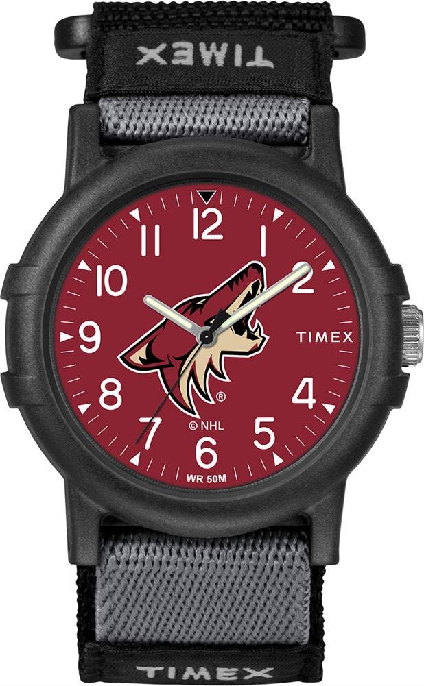 Timex Youth TWZHCOYYA Recruit Arizona Coyotes NHL Tribute Collection Watch by Timex Tribute
