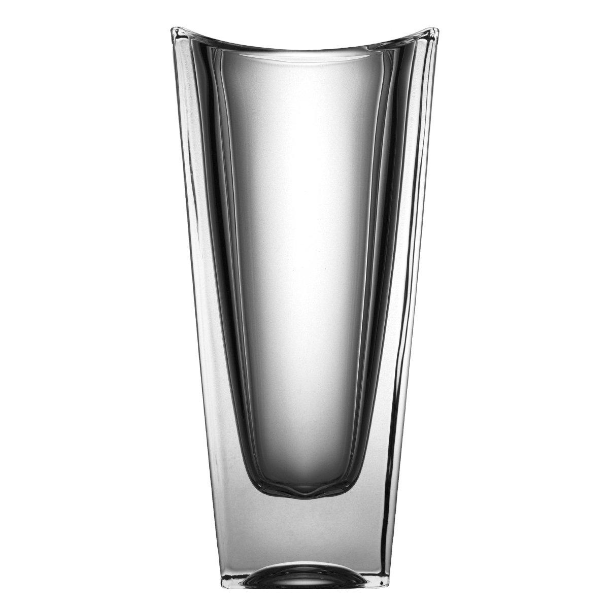 Crystaljulia Vase, Glas, 30cm, 14 x 14 14 14 x 30 cm, a3ec19