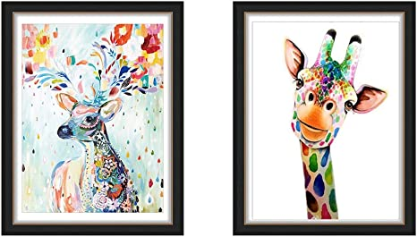 5D Diamond Painting Animal Picture with Crystal Cross Stitch Kit Hand Crafts