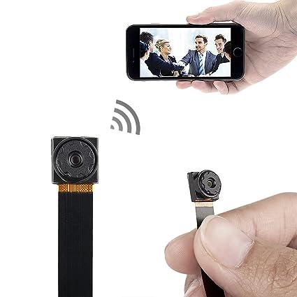 xingan Mini Súper Pequeño Portátil Cámara Espía Oculta P2P Wireless WiFi Digital Video Recorder para iOS